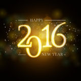 2016 New Year background for your invitation or greetings card Royalty Free Stock Photo