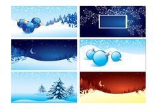 New-year Backgrounds. Backgrounds for new-year postals Stock Images