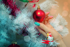 New Year ball Royalty Free Stock Images