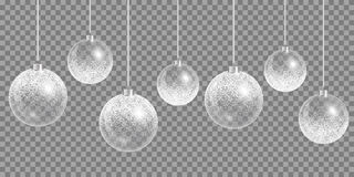 New year ball. Christmas ball ornament. Happy holidays vector. New year celebration Stock Photos