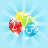 New Year balloon Royalty Free Stock Photo