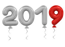 New Year balloons Royalty Free Stock Images