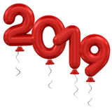 New Year balloons Royalty Free Stock Photo
