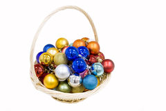 New year balls Royalty Free Stock Images