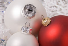 New-Year balls Royalty Free Stock Photos