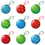 New Year balls Royalty Free Stock Photos