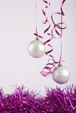 New year balls Stock Images
