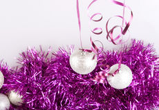 New year balls Royalty Free Stock Photo