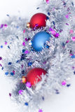 Balls and garland Royalty Free Stock Images