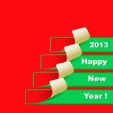 New Year banner Stock Photo