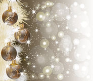 New Year 2015 banner. Vector illustration Stock Photos