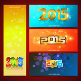 New Year Banners Royalty Free Stock Image