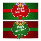 New year banners. Stock Image