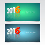 New Year Banners Stock Images