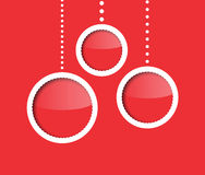 New Year baubles Royalty Free Stock Image