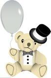 New year bear Stock Photo