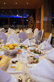 New Year beautiful catering Royalty Free Stock Images