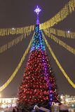 New year Belarus siti grodno stock image