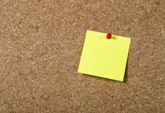 New year Blank Resolutiosn Post it note with copy space Royalty Free Stock Photo