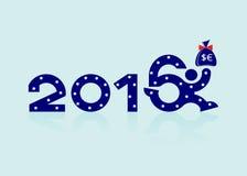 New year 2016. Stock Photos