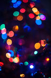 New year bokeh background Royalty Free Stock Images