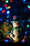 New year bokeh background Stock Images