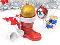 New year boot Royalty Free Stock Image