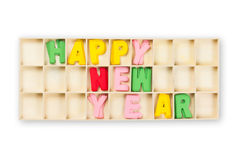 New Year Box Royalty Free Stock Photography