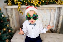 New year boy Royalty Free Stock Photography