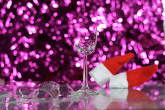 New Year broken glass Stock Image
