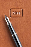New year business background Stock Photo