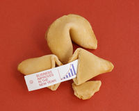 New Year Business Fortune Stock Image