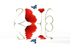 New year 2016 Royalty Free Stock Photo