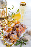 New year cake Royalty Free Stock Photography