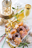 New year cake Royalty Free Stock Images
