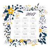New Year calendar Royalty Free Stock Images