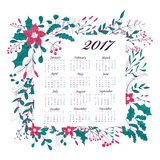 New Year calendar Royalty Free Stock Photos