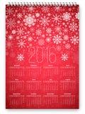 New Year Calendar Royalty Free Stock Image