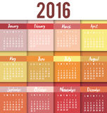 New year calendar schedule. Graphic design, vector illustration eps 10 Stock Illustration