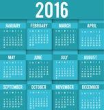 New year calendar schedule. Graphic design, vector illustration eps 10 Vector Illustration