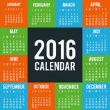 New year calendar schedule. Graphic design, vector illustration eps 10 Stock Photos