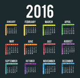 New year calendar schedule. Graphic design, vector illustration eps 10 Stock Photo