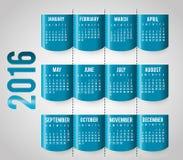 New year calendar schedule. Graphic design, vector illustration eps 10 Stock Image