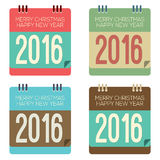2016 New Year Calendar Stock Images