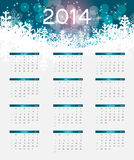 2014 new year calendar vector illustration Stock Photo