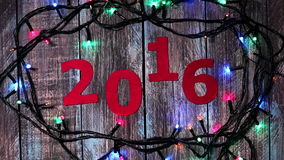 New year calendar stock footage
