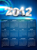 New year calender Royalty Free Stock Photos