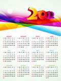 New year calender Stock Photo