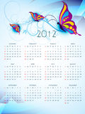 New year calender. Beautiful happy new year calender art Royalty Free Stock Images