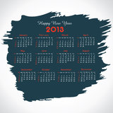 New year calender Stock Image